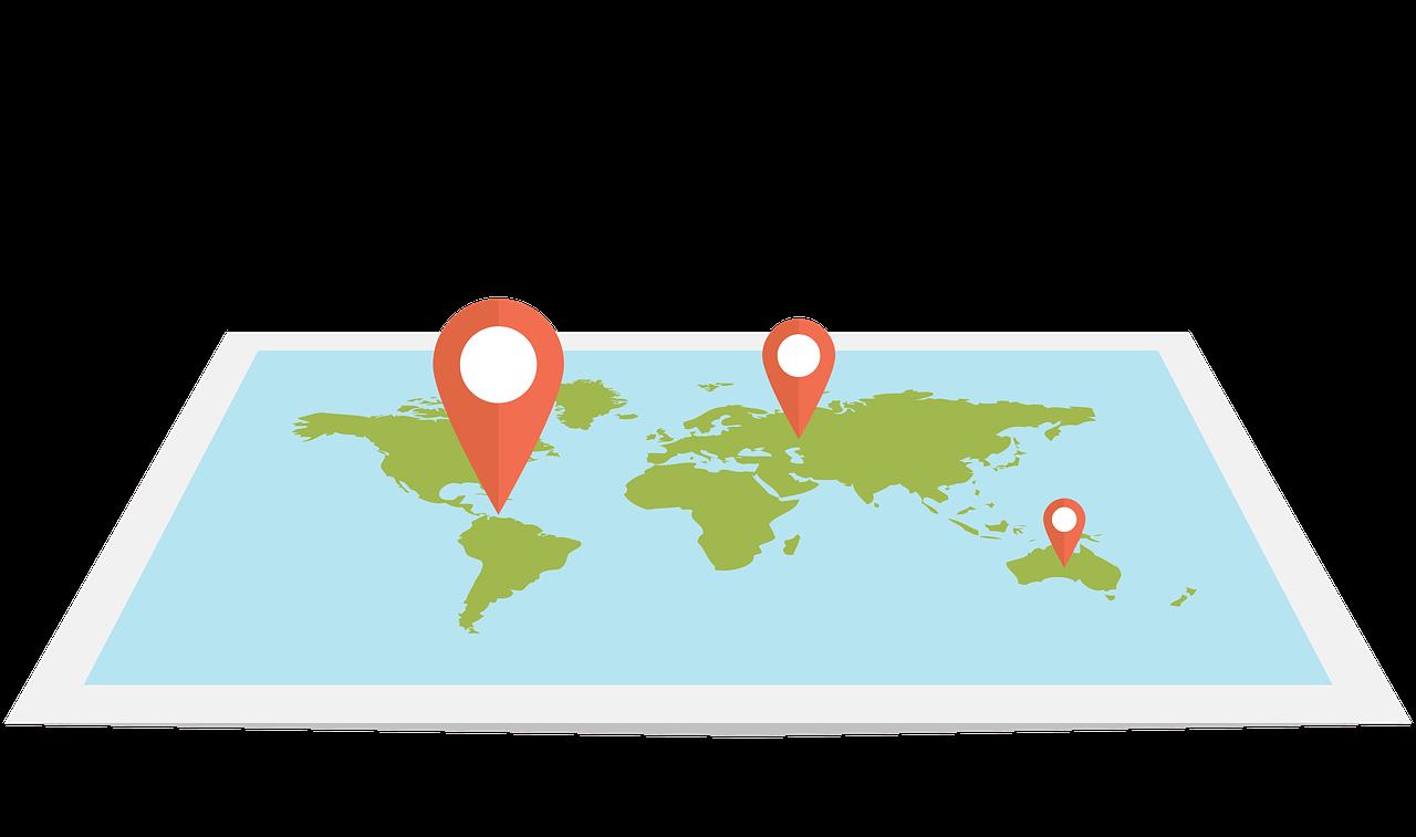 アイキャッチ_地図と現在位置