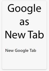 NEW Google Tabアイコン白