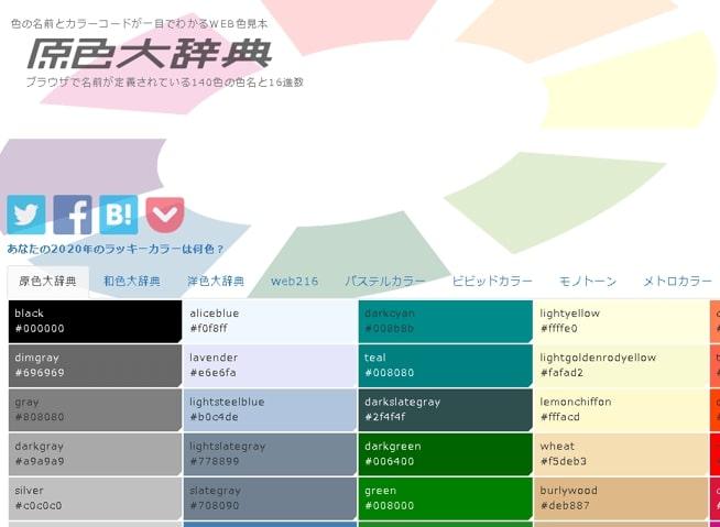 原色大辞典のページ
