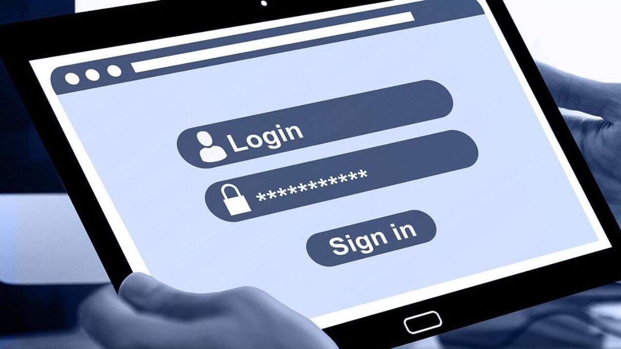 ログインとパスワード