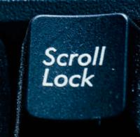 スクロールロックキー