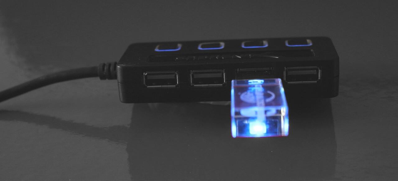 USBハブのアイキャッチ