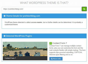 What WordPress Theme Is Thatの調査結果
