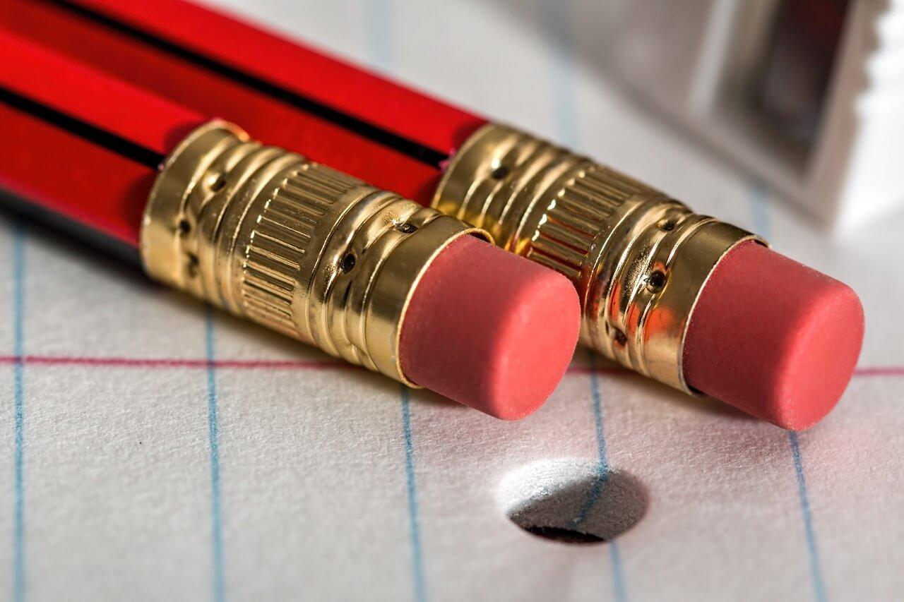 消しゴム鉛筆のイメージ画像