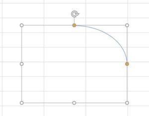 Excel_円弧の作成