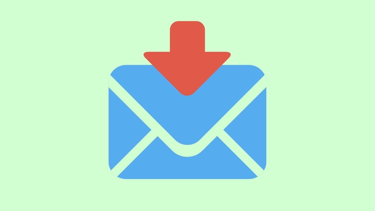 メール受信のイメージ画像