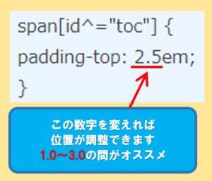 CSSの調整方法