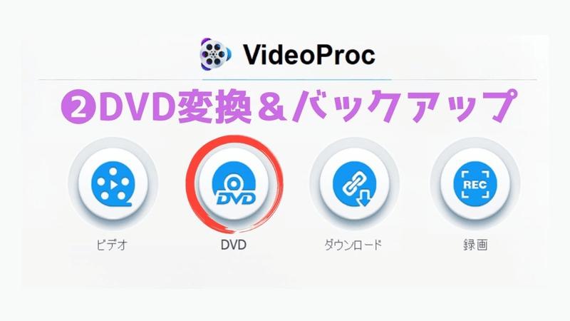 2_DVD変換&バックアップ